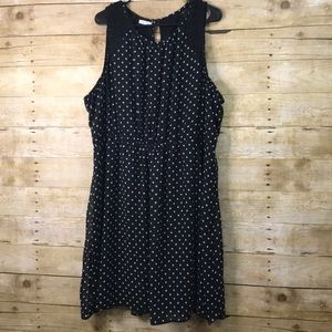 Maurices Polka Dot Sleeveless Dress Size 3